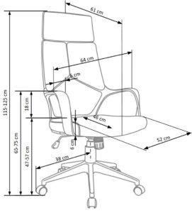 fotel gabinetowy na kółkach